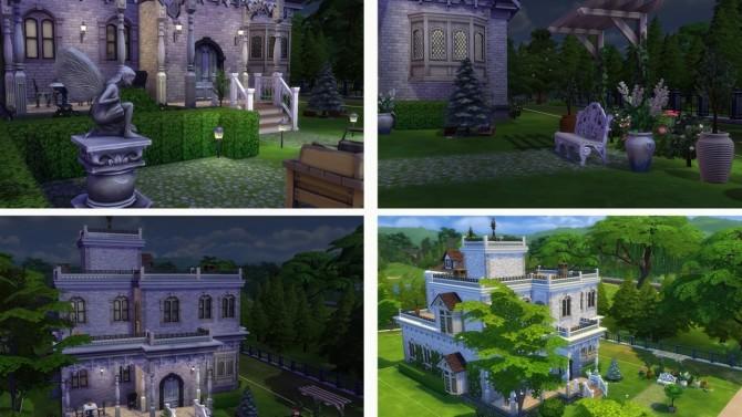 Simple Mansion no CC at Tatyana Name image 549 670x377 Sims 4 Updates