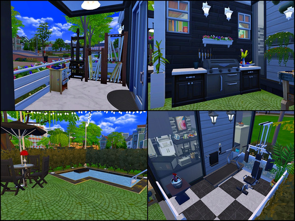Small House for the whole Family by Tontin2018 at TSR image 5614 Sims 4 Updates
