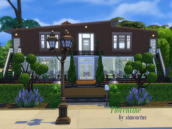 Florentine house by simcactus at TSR image 5913 Sims 4 Updates