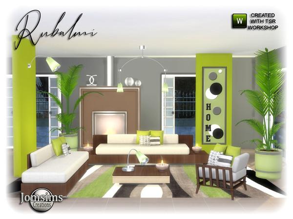 Sims 4 Rubalmi Garden by jomsims at TSR