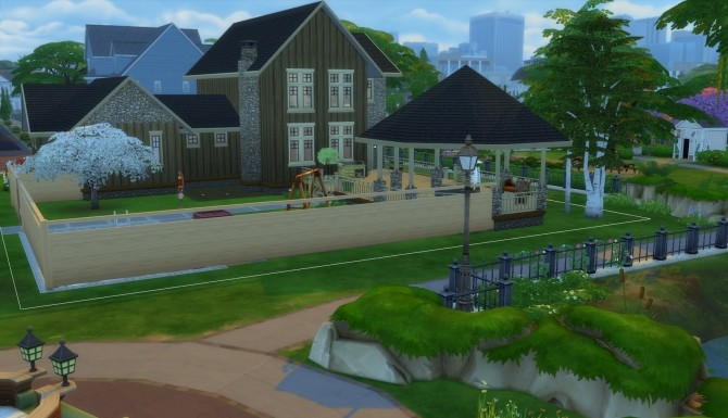 Sims 4 Meadowlark house by moleskine at Mod The Sims