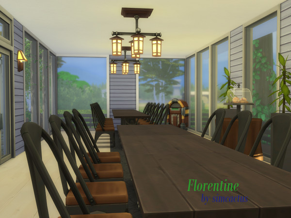 Florentine house by simcactus at TSR image 6118 Sims 4 Updates