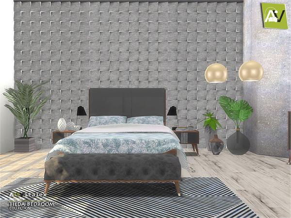 Tilda Bedroom by ArtVitalex at TSR image 612 Sims 4 Updates