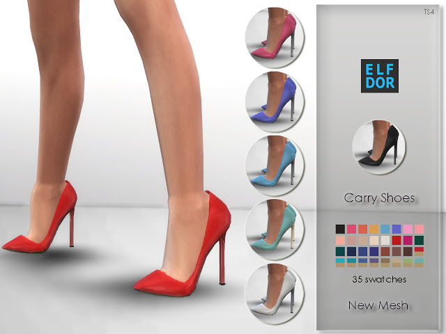 Carry Shoes at Elfdor Sims image 6122 Sims 4 Updates
