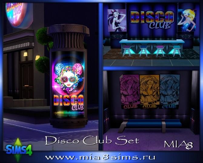 Sims 4 DiscoClub Set at Mia8Sims