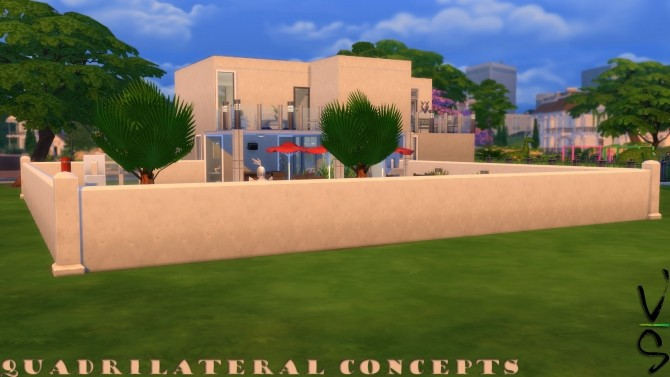 Sims 4 Quadrilateral Concepts by Veckah at Mod The Sims