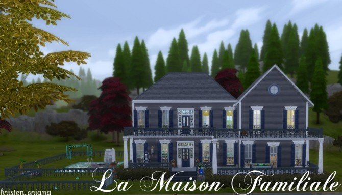 Sims 4 La Maison Familiale   Foster Home by Kristen.Ariana at Mod The Sims