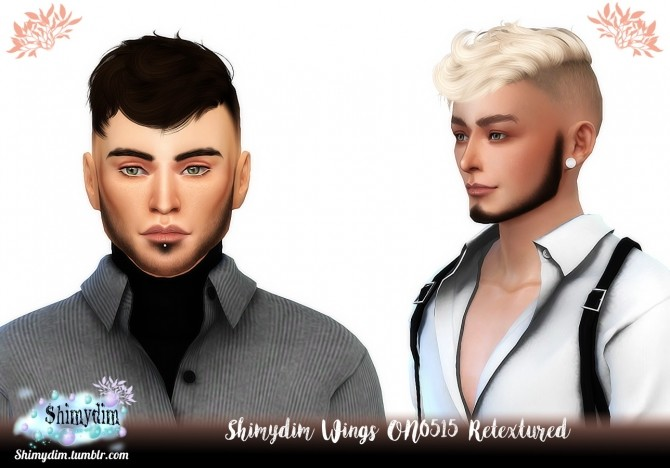 Sims 4 Wings ON0515 Hair Retexture Naturals + Unnaturals at Shimydim Sims