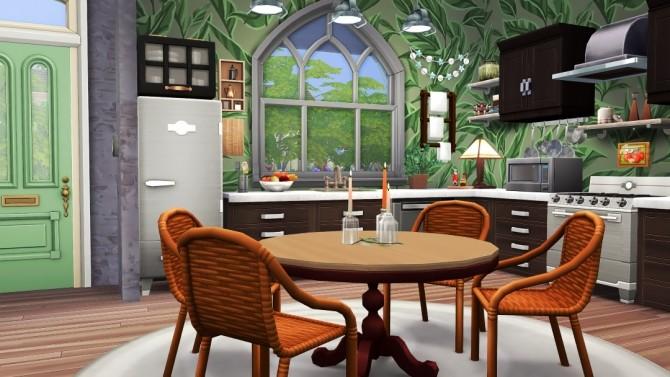 Sims 4 The Josephine renovated shotgun house at Jenba Sims
