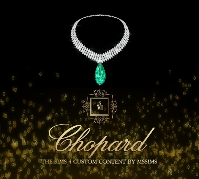 Sims 4 CHOPARD NECKLACE (P) at MSSIMS