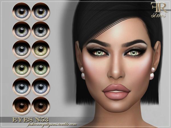 FRS Eyes N53 by FashionRoyaltySims at TSR image 6911 Sims 4 Updates