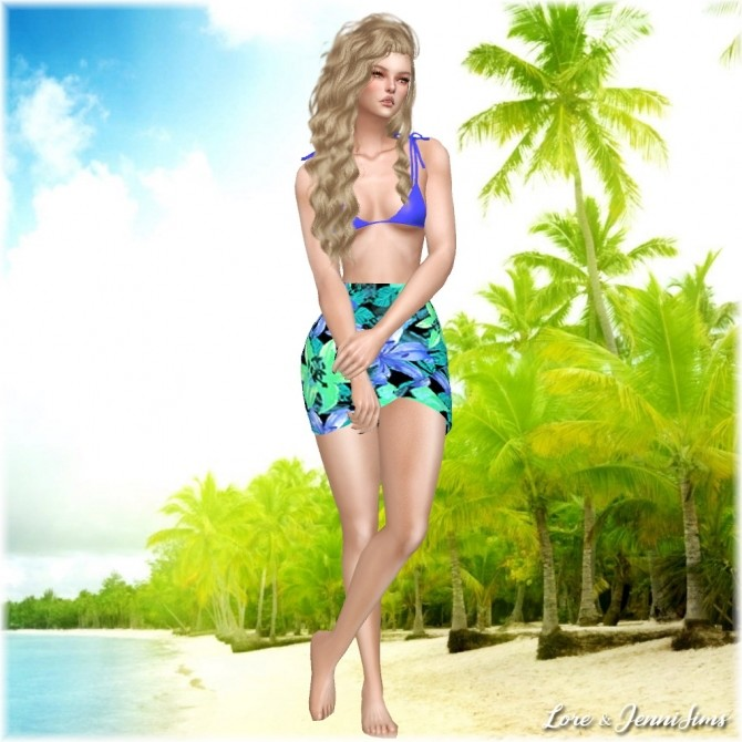 Sims 4 Nostalgic Summer 7 Cas backgrounds at Jenni Sims