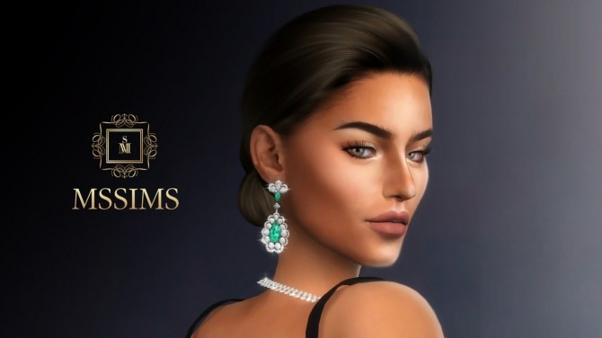 Sims 4 CHOPARD EARRINGS (P) at MSSIMS