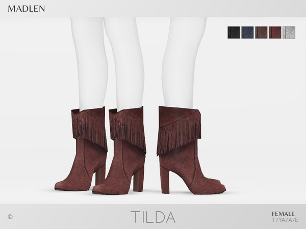 Madlen Tilda Boots by MJ95 at TSR image 7016 Sims 4 Updates