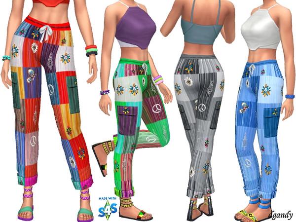 Sims 4 Boho Capris 201904 02 by dgandy at TSR