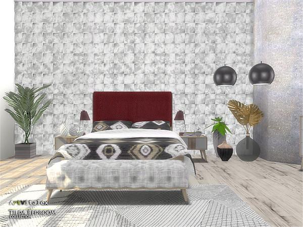 Tilda Bedroom by ArtVitalex at TSR image 711 Sims 4 Updates