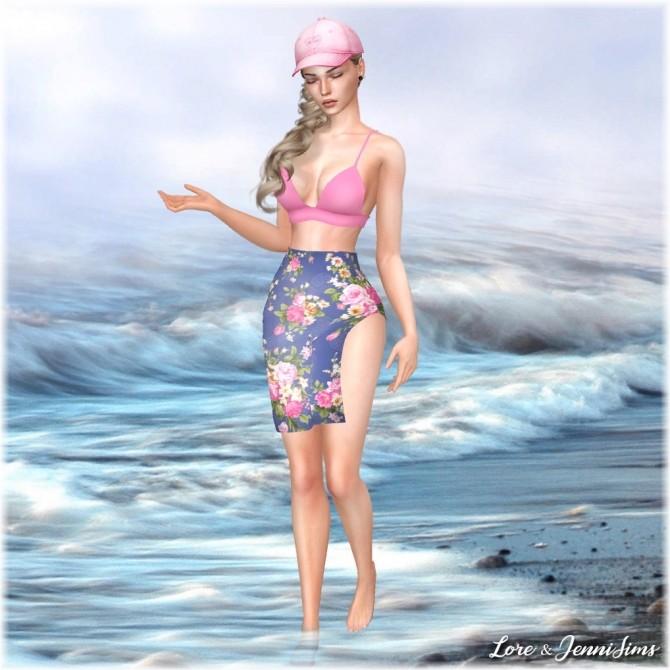 Nostalgic Summer 7 Cas backgrounds at Jenni Sims image 7112 670x670 Sims 4 Updates