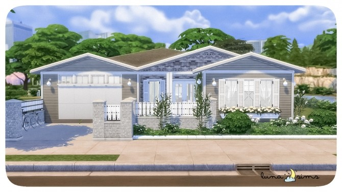 Sims 4 OLEANDER FAMILY HOME at Luna Sims