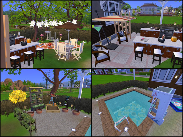 Sims 4 Wild and cozy house by Tontin2018 at TSR