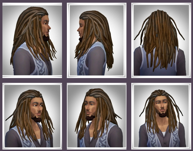 Sims 4 New Bob Dreads at Birksches Sims Blog
