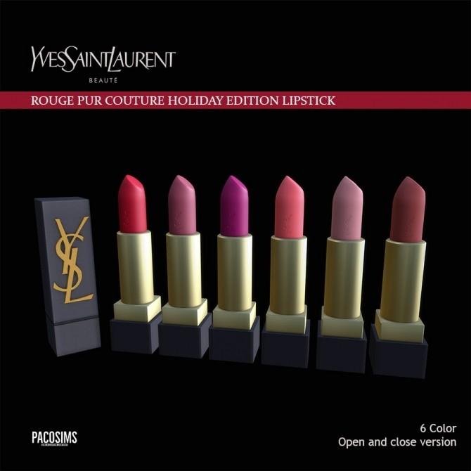 Sims 4 Beauty lipstick Decor (P) at Paco Sims