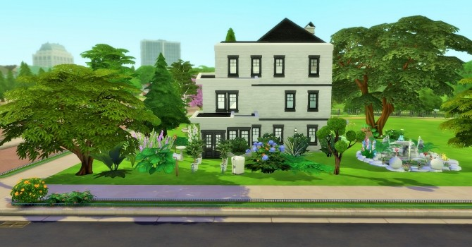 Three Story House with Balcony on Third Floor by heikeg at Mod The Sims image 7420 670x350 Sims 4 Updates