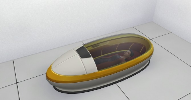 Sims 4 Hibernate for Sleeping Pod by c821118 at Mod The Sims
