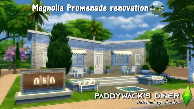 Magnolia Promenade renovation #3   Paddywacks Diner by iSandor at Mod The Sims image 752 670x377 Sims 4 Updates