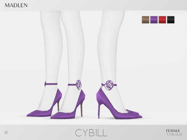 Sims 4 Madlen Cybill Shoes by MJ95 at TSR