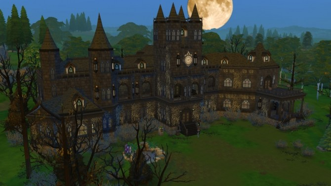 Gothic Castle no CC at Tatyana Name image 7616 670x377 Sims 4 Updates