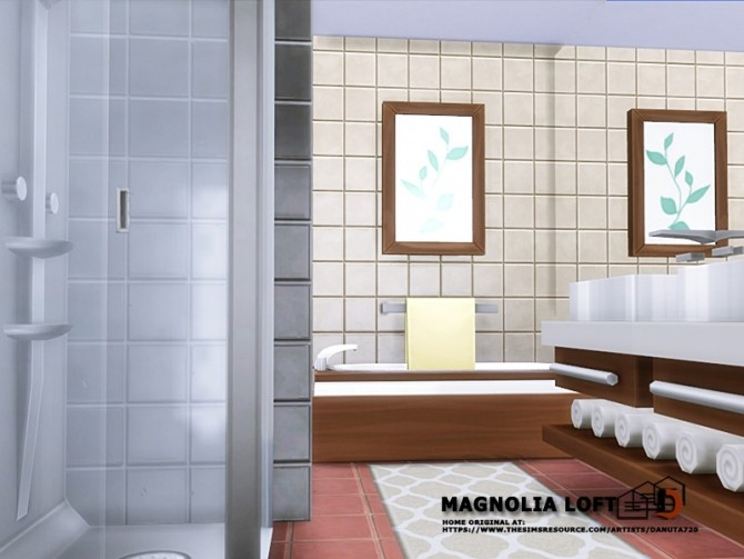Magnolia Loft by Danuta720 at TSR image 780 670x503 Sims 4 Updates
