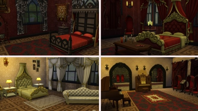 Gothic Castle no CC at Tatyana Name image 7813 670x377 Sims 4 Updates