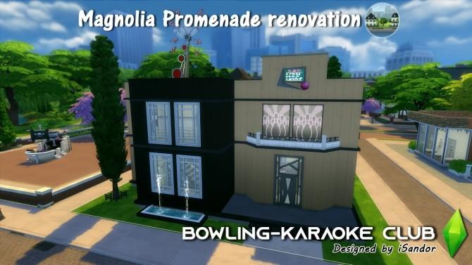 Magnolia Promenade renovation #4   Bowling Karaoke club by iSandor at Mod The Sims image 792 670x377 Sims 4 Updates