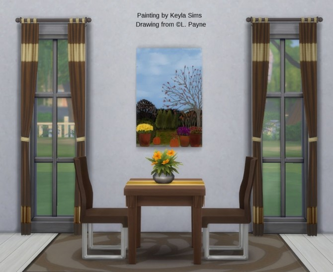 L. Payne Paintings set at Keyla Sims image 8018 670x548 Sims 4 Updates