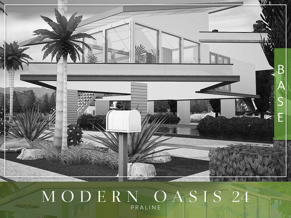 Modern Oasis 24 by Pralinesims at TSR image 8118 Sims 4 Updates