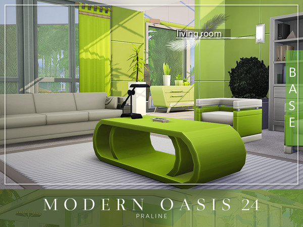 Modern Oasis 24 by Pralinesims at TSR image 8215 Sims 4 Updates