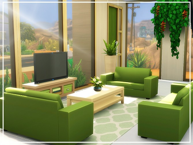 Oasis Modern House N04 at MSQ Sims image 8224 670x503 Sims 4 Updates