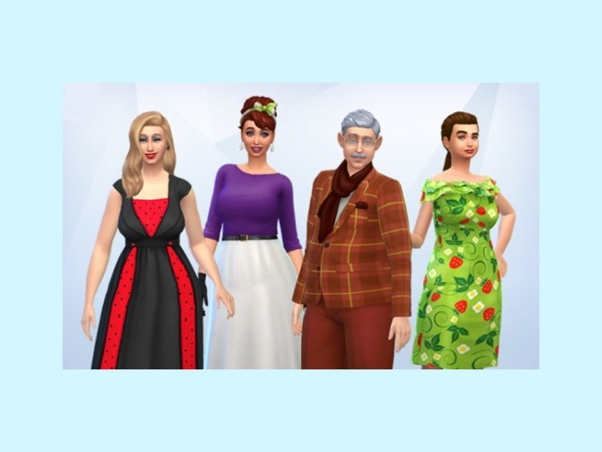 Sims 4 The Protheroe Lestrange family at KyriaT's Sims 4 World