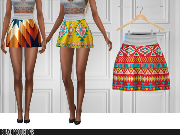 282 Skirt by ShakeProductions at TSR image 826 Sims 4 Updates