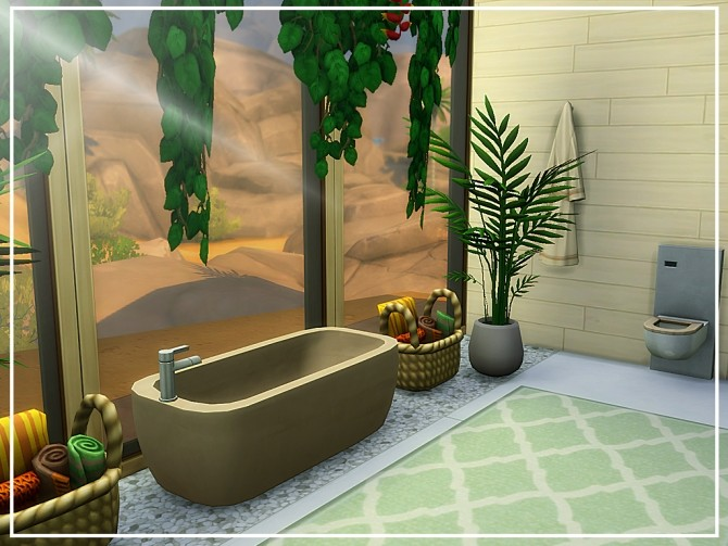 Oasis Modern House N04 at MSQ Sims image 8322 670x503 Sims 4 Updates