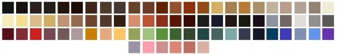 ColoresUrbanos 87, 88, 89, 90, 91 Hair Retexture + TwoTone Naturals + Unnaturals at Shimydim Sims image 8816 670x109 Sims 4 Updates