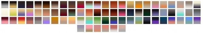 ColoresUrbanos 87, 88, 89, 90, 91 Hair Retexture + TwoTone Naturals + Unnaturals at Shimydim Sims image 8915 670x109 Sims 4 Updates