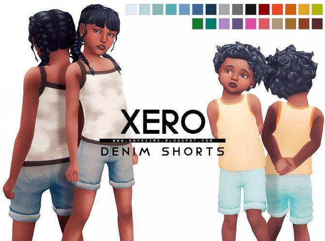 Sims 4 Xero Denim Shorts at Onyx Sims