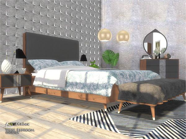 Tilda Bedroom by ArtVitalex at TSR image 910 Sims 4 Updates