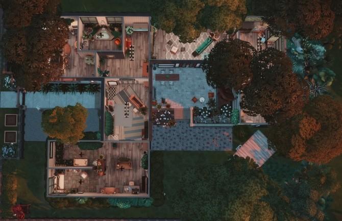 Sims 4 Rainy House at Wiz Creations