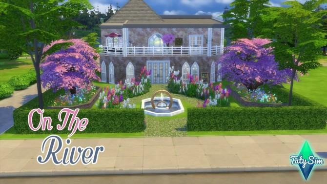 Sims 4 On the river house at Taty – Eámanë Palantír