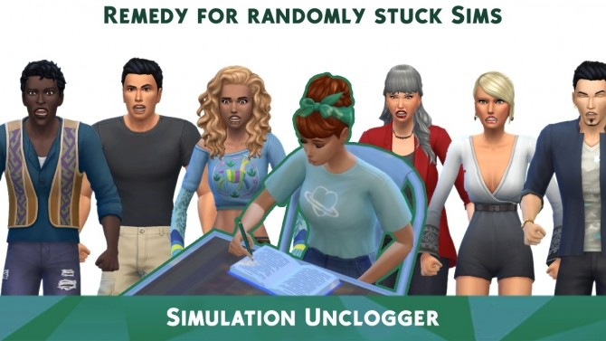 Sims 4 Simulation Unclogger by TURBODRIVER at Mod The Sims