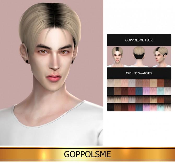 Sims 4 GPME HAIR MG1 (P) at GOPPOLS Me