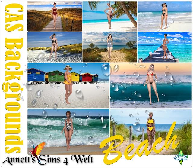 Beach CAS Backgrounds at Annett's Sims 4 Welt image 969 Sims 4 Updates