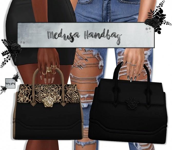 Sims 4 Medusa Handbag (P) at Lumy Sims